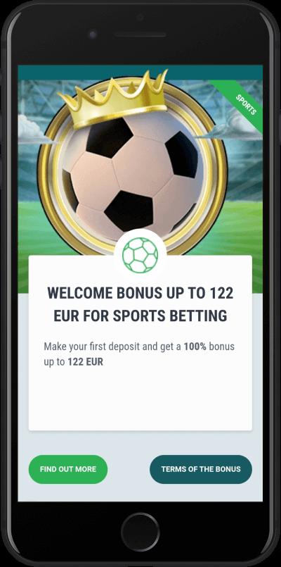 22bet bonus dobrodoslice