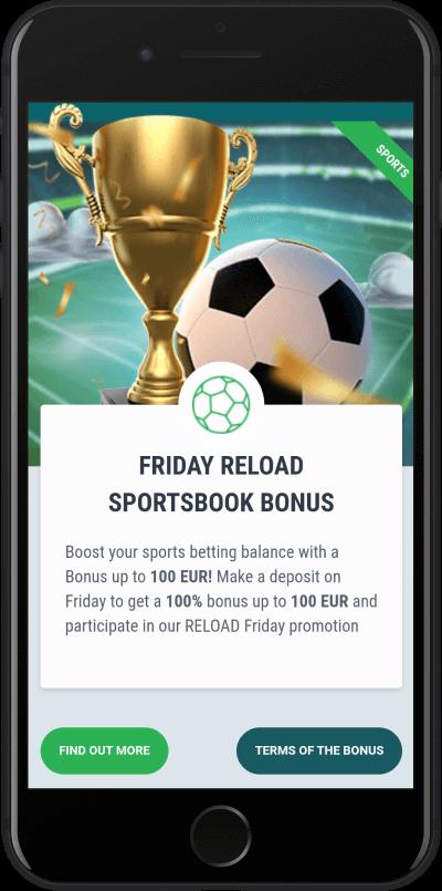 22bet petkov sportni bonus
