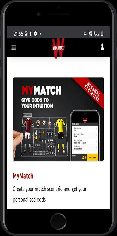 Winamax MyMatch bonus