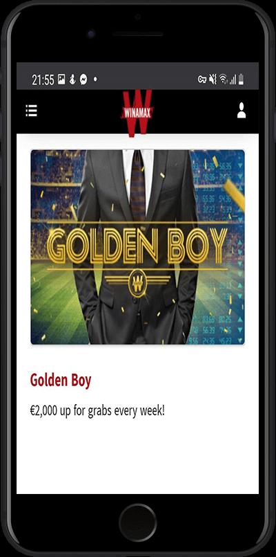 Winamax golden boy bonus