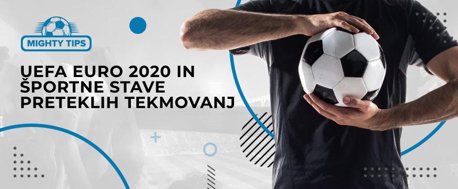 UEFA EURO 2020 IN ŠPORTNE STAVE PRETEKLIH TEKMOVANJ